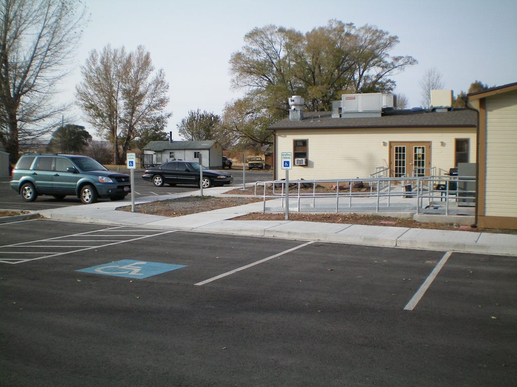 Shoshone Paiute Tribes Of Duck Valley Various Parking Lots